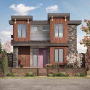 Venda home with pink door